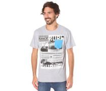 Illusion - T-Shirt für Herren - Grau