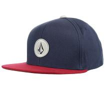 Quarter Snapback Cap - Blau