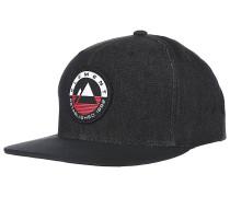 Crest - Snapback Cap - Schwarz