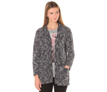 Homy Kimono - Strickjacke für Damen - Schwarz