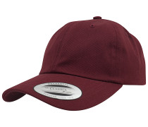 Low Profile Cotton Twill Snapback Cap - Rot