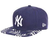 Sandwash Visor Print New York Yankees Snapback Cap - Blau