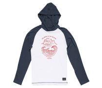 Hooded - Langarmshirt für Jungs - Weiß