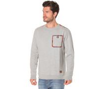 Flannelville Crew - Sweatshirt für Herren - Grau