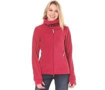 Funnel Neck Fleece - Sweatshirt für Damen - Pink