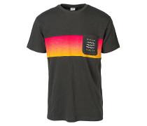 Line Up - T-Shirt - Schwarz