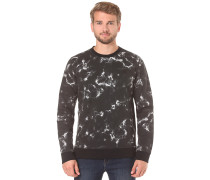 Surf Club Lineup Crew - Sweatshirt für Herren - Schwarz