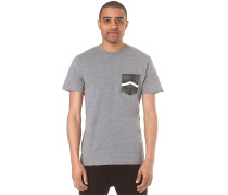 Side Stripe Pocket - T-Shirt für Herren - Grau