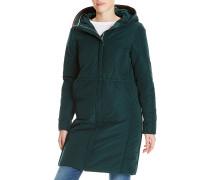 Down - Mantel für Damen - Grün