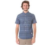 Short - Hemd für Herren - Blau