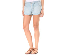 Summer Feel - Shorts für Damen - Blau