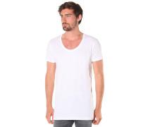 Long Subneck - T-Shirt für Herren - Weiß