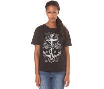 Basic - T-Shirt für Damen - Schwarz
