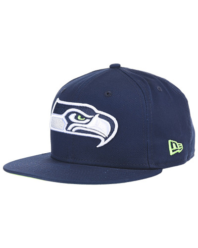 Team Classic Seattle Seahawks - Snapback Cap für Herren - Blau