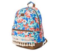 Mia Flores Dome - Rucksack für Damen - Blau