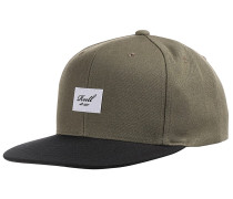 Pitchout 6-Panel Snapback Cap - Grün
