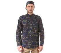 Foster L/S Hemd - Camouflage