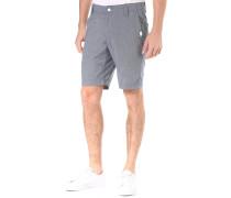 Karel Microchecks - Chino Shorts für Herren - Blau