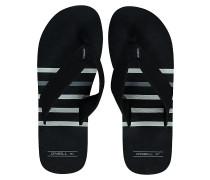 Imprint Check & Stripe - Sandalen für Herren - Schwarz