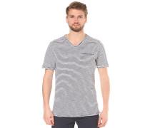 V Neck - T-Shirt für Herren - Blau