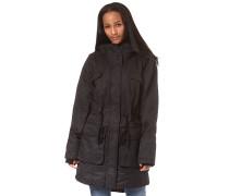 Waisted - Mantel für Damen - Schwarz