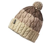 Pom - Mütze für Damen - Beige