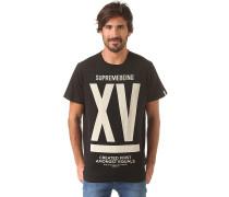 Fithteen - T-Shirt für Herren - Schwarz