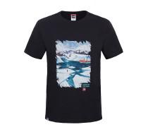Never Stop Exploring Series - T-Shirt für Herren - Schwarz