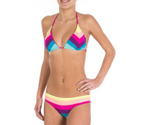 Spectrum Triangel - Bikini Set für Damen - Mehrfarbig