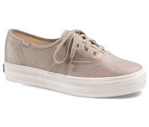 Triple Washed Metallic Twill - Sneaker für Damen - Gold