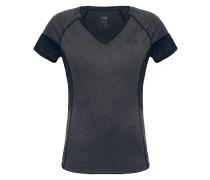 Reactor V-Neck - T-Shirt für Damen - Grau
