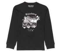 Surf Trip - Langarmshirt für Jungs - Schwarz