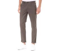 Bronson Slim Chino Premium Micro Stretch Twill - Hose für Herren - Grau