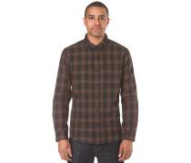 Fiddle L/S Flannel Woven - Hemd für Herren - Blau