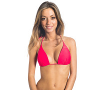 Love n Surf Triangle Moulded - Bikini Oberteil für Damen - Rot