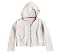 Love - Kapuzenjacke für Mädchen - Weiß