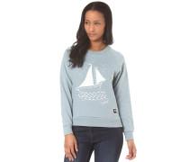 Boat Crewneck - Sweatshirt für Damen - Blau