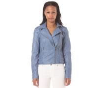 Videna Biker - Jacke für Damen - Blau
