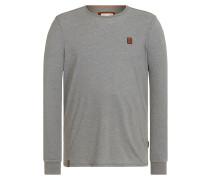 Aal Macht Anal II - Langarmshirt für Herren - Grau