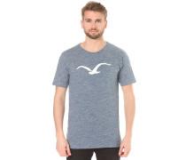 Vintage Möwe - T-Shirt für Herren - Blau