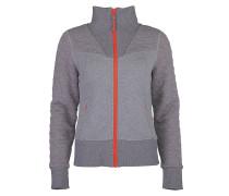Oline - Sweatjacke für Damen - Grau