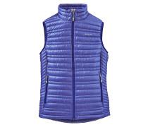 Ultralight Down - Outdoorweste für Damen - Blau