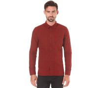 Henry Flanell Check - Hemd für Herren - Rot