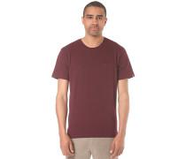 Basic Pocket - T-Shirt für Herren - Rot