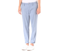 Bronson Mid Skinny Chino King Stretch BT - Hose für Damen - Blau