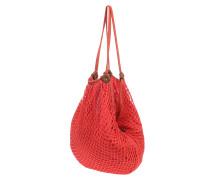 Island Vibe Hobo - Handtasche für Damen - Rot