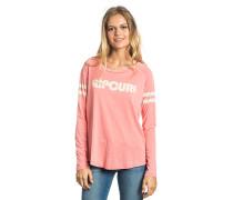 Active Stripe - Langarmshirt für Damen - Pink