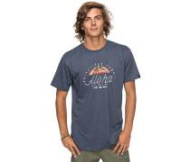 Heather King St - T-Shirt - Blau
