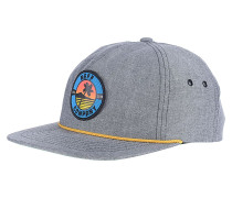 Palm Patch Snapback Cap - Schwarz