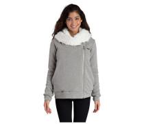 Cocoon Sherpa - Kapuzenjacke für Damen - Grau